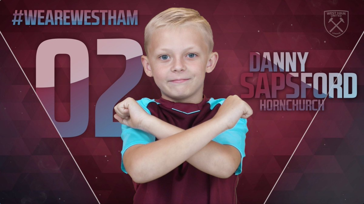 Just like the pro's Danny! 🎥  #WeAreWestHam