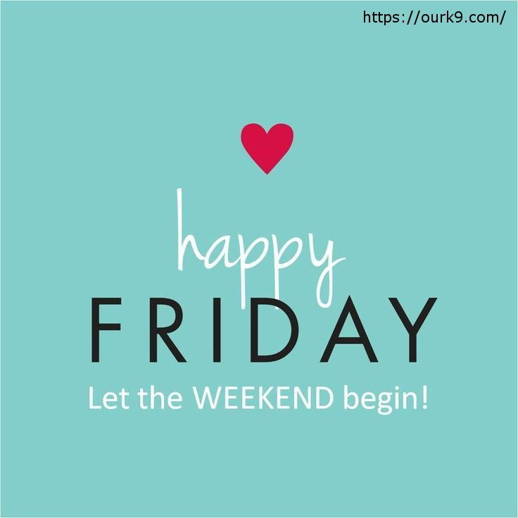 Are you ready for the weekend? Thank God...