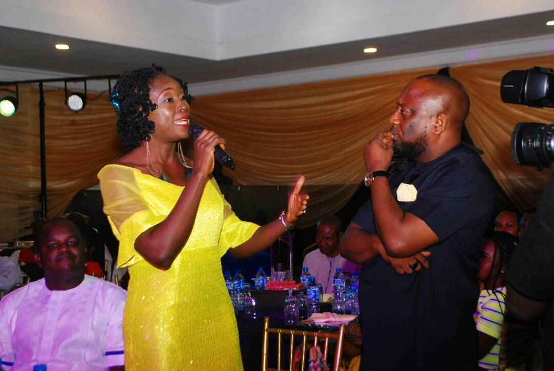A nominator from Abia state , Joy, sharing her awesome experience  yesterday at the #WhatCanWeDoTogether @MTNNG appreciation party<br>http://pic.twitter.com/SpUZVbsMWF