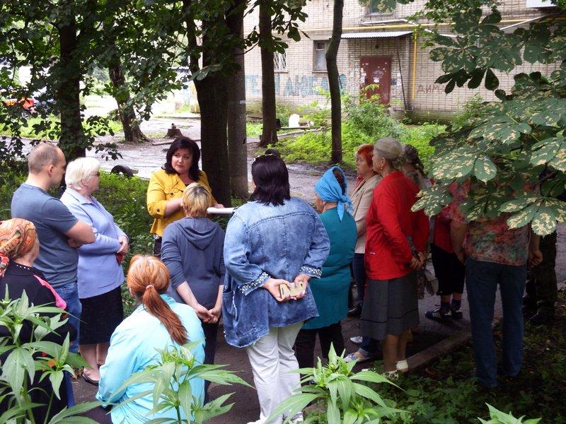 Ирина Студеникина провела встречу с жителями