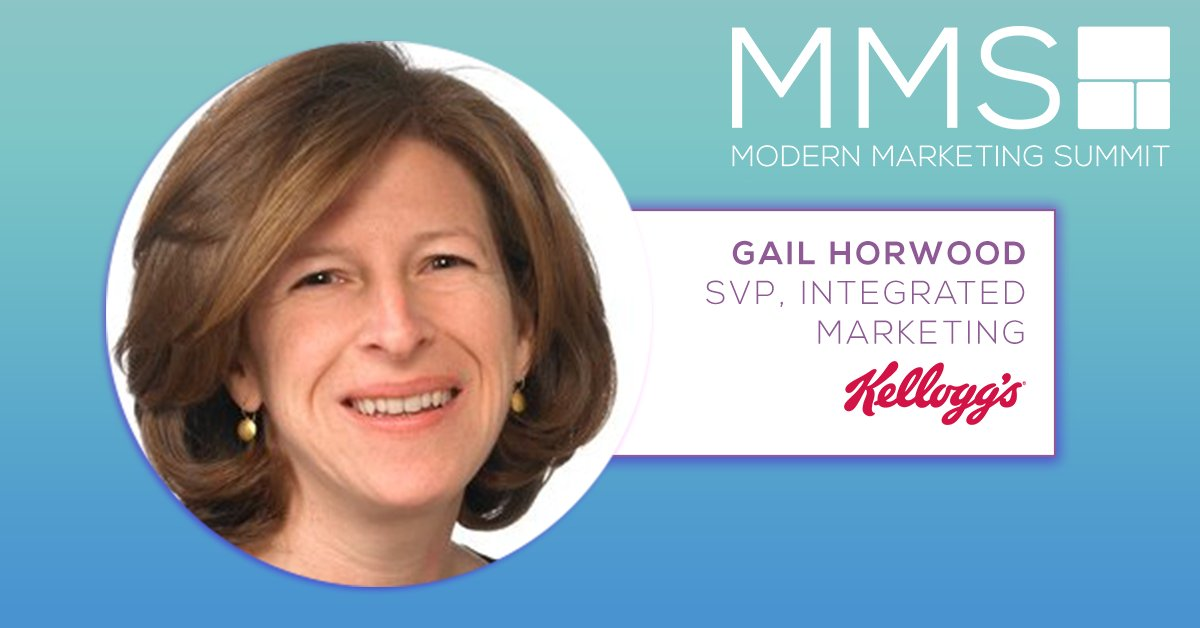 Bildresultat för Gail Horwood, SVP Integrated Marketing, Kellogg Company