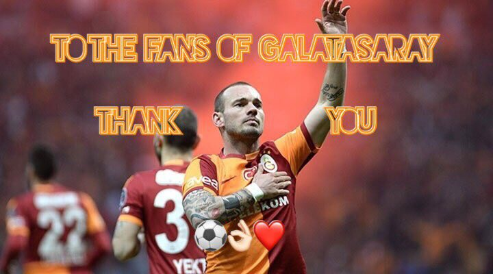 I had some amazing years in Istanbul. I really love this club, the city and the fans. Thank you all for everything ❤️#Cimbom #Galatasaray