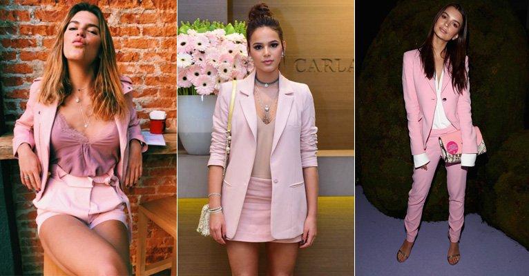 Millennial Pink: cor conquista famosas como Bruna Marquezine e Mariana Goldfarb; saiba usar!-->https://t.co/sArzoLO5UE