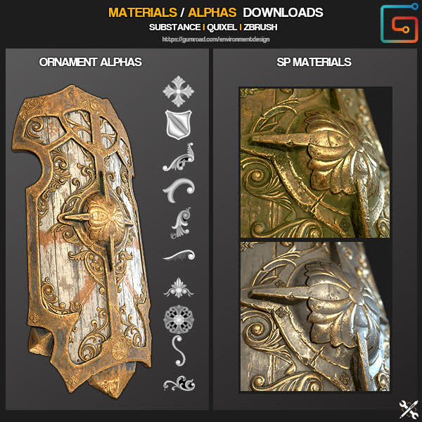 Download zbrush materials | Materials and Rendering in