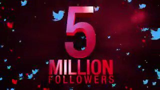 Another milestone, once again together. Because You + Us = #weareacmilan ❤⚫ 5 Million followers, thank you all! 🔝