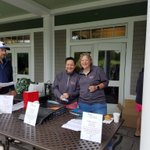 Weather will hold for @_hcfoundation golf tourney. @deansarahneill and @TKKeeney selling tix to support students & Foundation. @mpc0518