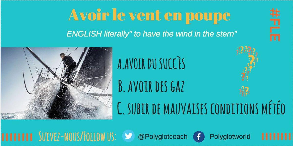 Nouveau QCM! Qui connait la réponse?  New MCQ to test your #French skills! Who knows the answer? #français #idioms #expressions<br>http://pic.twitter.com/WQbPlG1xzf
