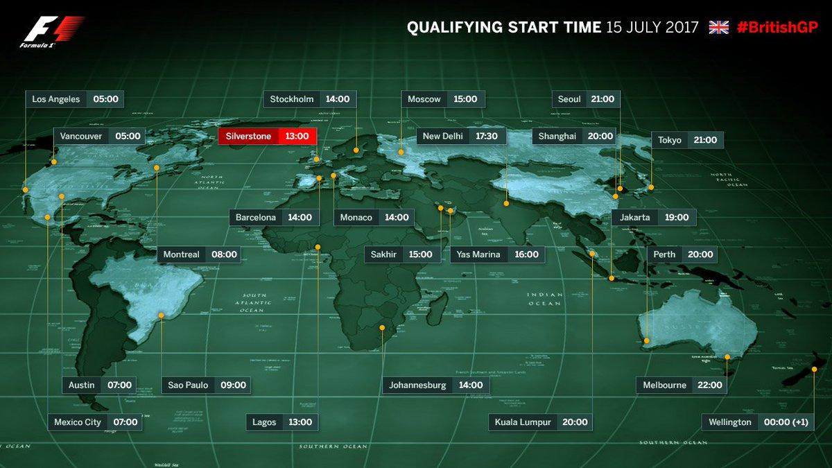 British GP 2017 Qualifying Race Live Stream