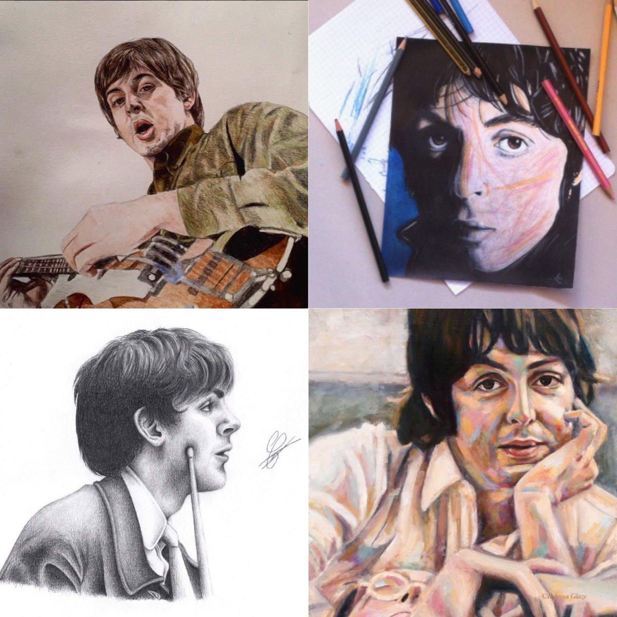 Paul McCartney On Twitter FanArtFriday By MoweKro And Instagram Users Annelouvel Elyalbertini Rebeccaglazeartist Share Your FanArt With