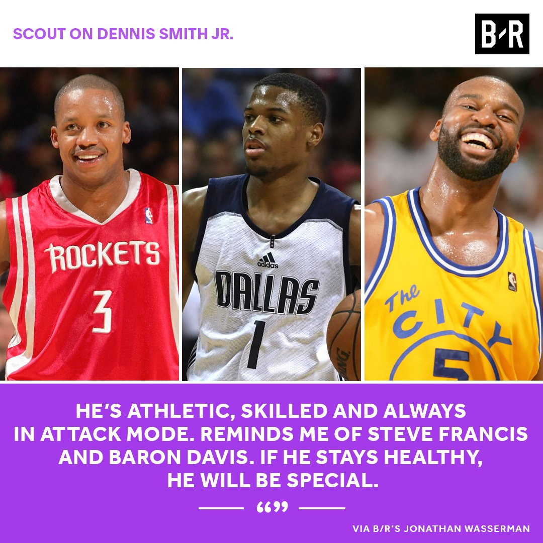 Don't sleep on Dennis Smith Jr.  8 scouts on the Mavs rookie: https://t.co/21Tvh2qByv
