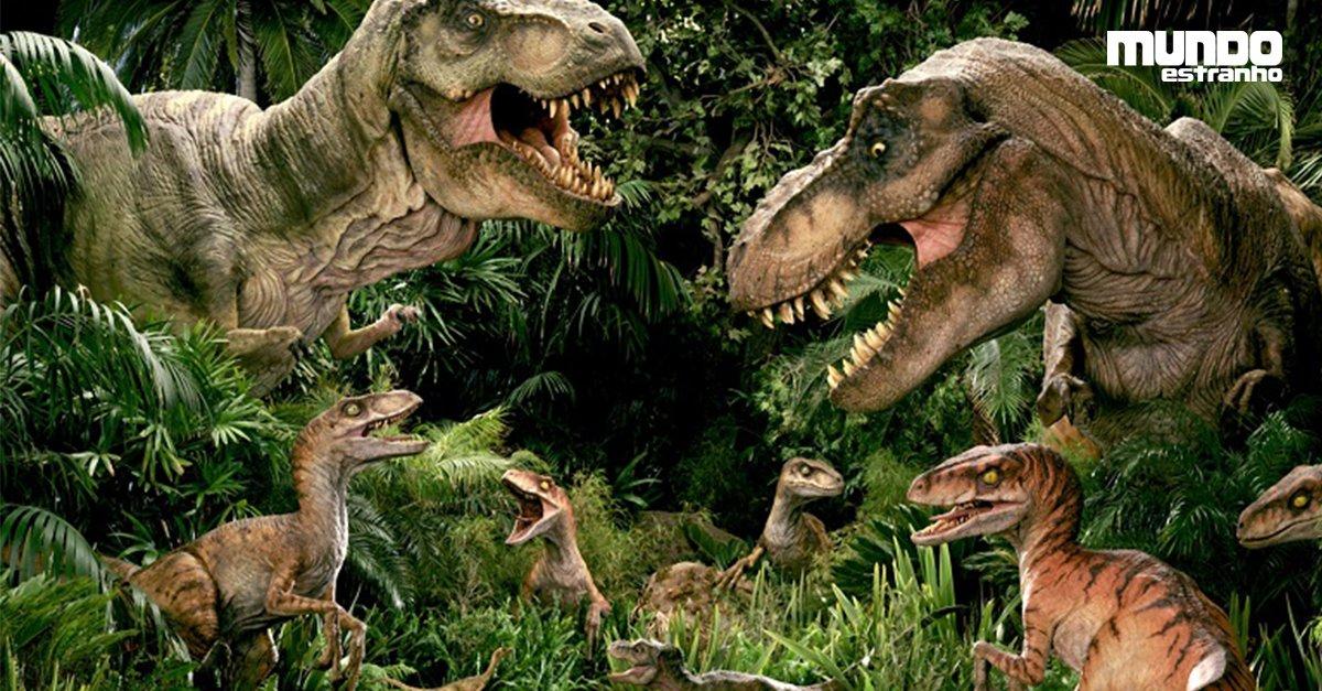 Que tipos de dinossauros habitaram a Terra? https://t.co/TB26ZAy2i1