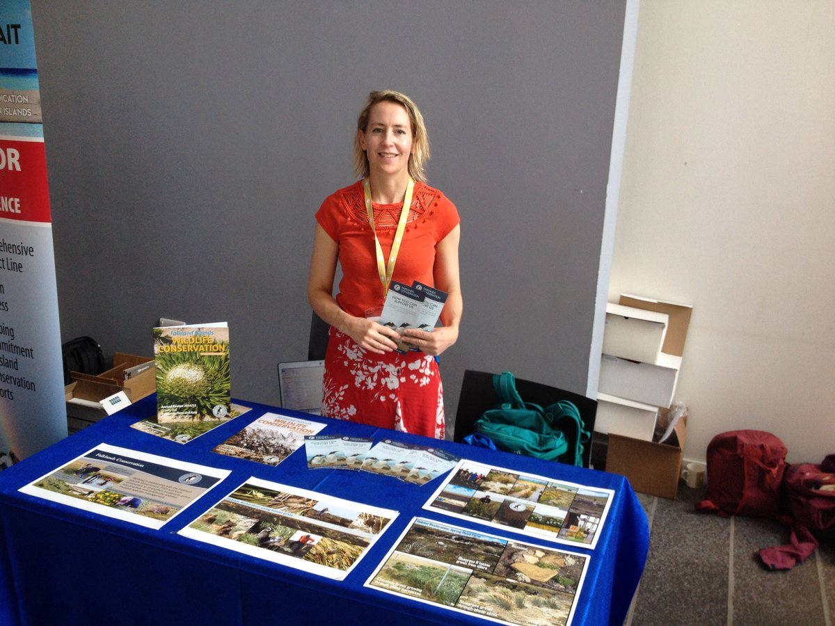 #Falklands Conservation&#39;s CEO, Esther Bertram, discusses our habitat restoration and biosecurity work at #Islandinvasives conference <br>http://pic.twitter.com/VDJPbaQdA2