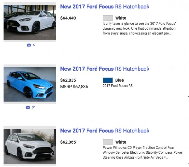 Bark's Bites: The Focus RS Is Dead, and Dealers Are to Blame  https://t.co/vo5Ww5qR78 https://t.co/AKKJq0TS7q