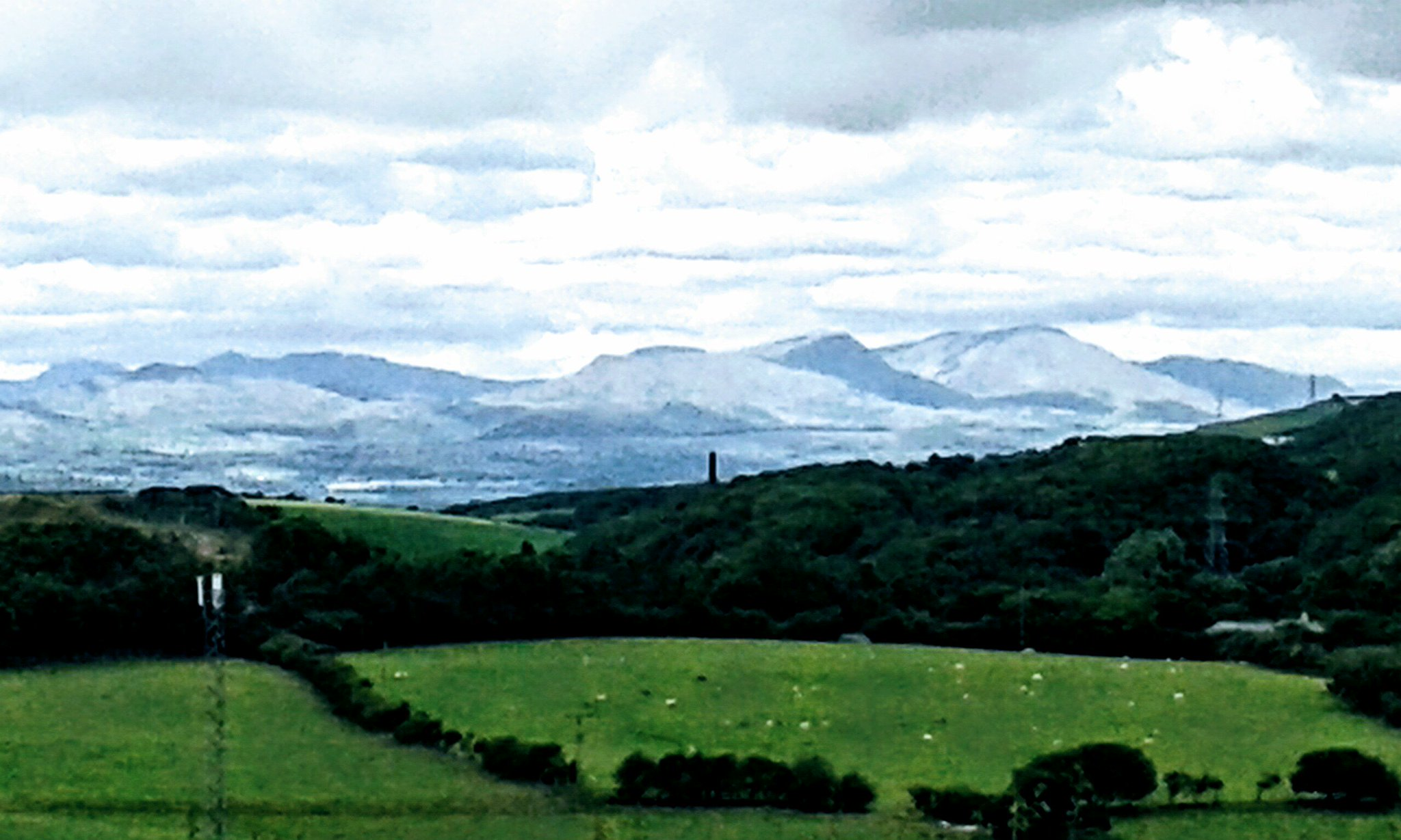 The English Lake District from Barrow-In-Furness