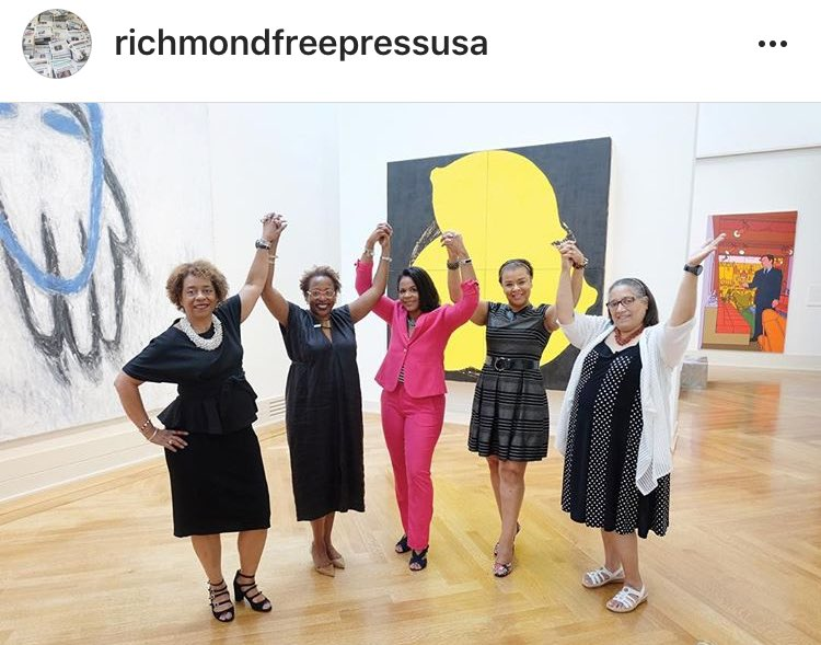 Richmond Free Press On Twitter Five Women Of Color Hold Key Positions At The Virginia Museum Of Fine Arts Vmfa Rva Vmfa Blackwomenatwork Blackwomeninarts Celebrate Https T Co E69mlqlgco