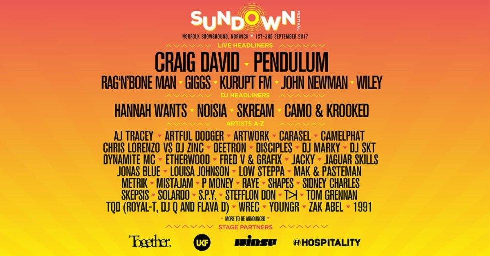 HoooOOOOO!!!! Who's coming for a mash-up at @SundownUK??? MASSIVE line-up. ☀ @Pendulum @KuruptFM https://t.co/Qnejh4Lv2g