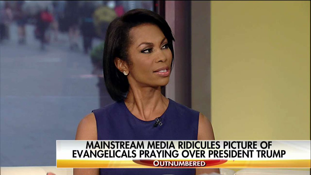 .@HARRISFAULKNER: 'Our money says, 'In God We Trust.' Why wouldn't we pray for our leader?' #Outnumbered