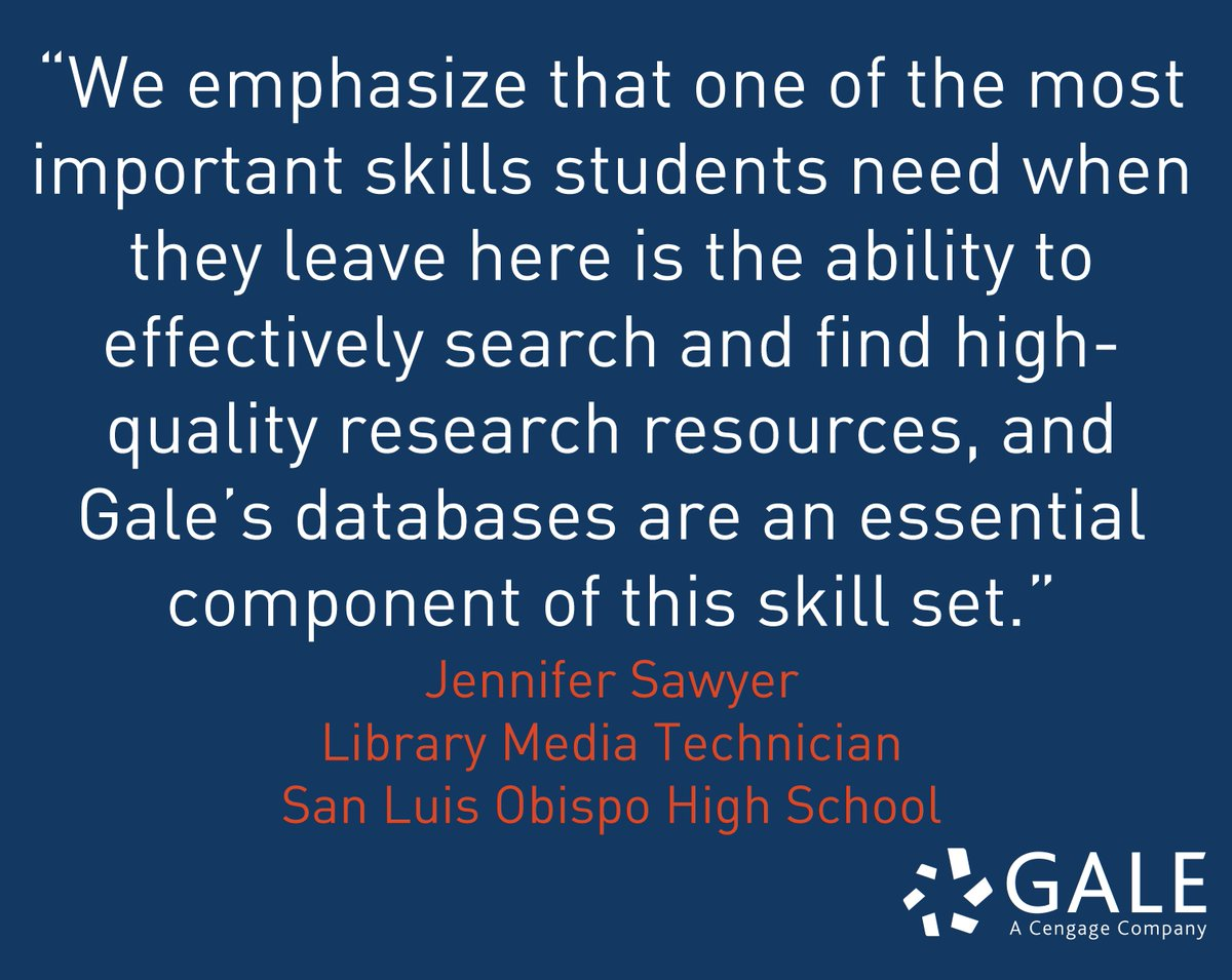 Gale Cengage (@galecengage)   Twitter