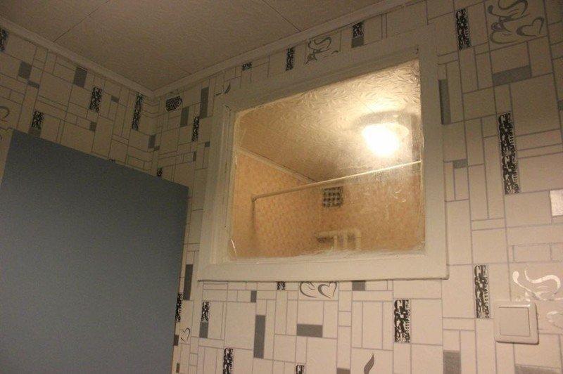 шкаф из гипсокартона в ванной фото
