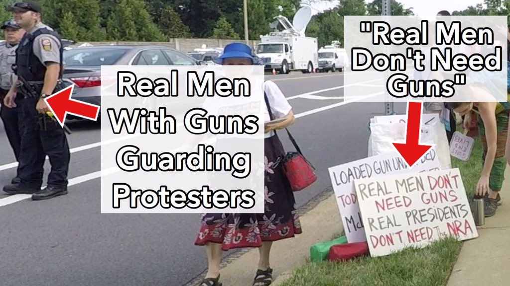 Anti-NRA leftist Women's March hires armed guards for protection