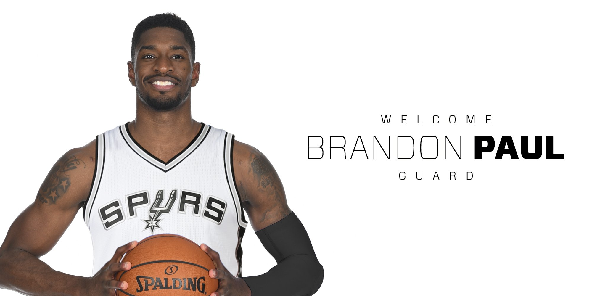 We've signed Brandon Paul » https://t.co/HKry3VFJMr  Welcome to the #SpursFamily, @BP3! https://t.co/e0PQ6Sw3cu