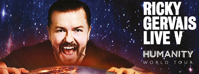 RT @LiveNationON: Set times for night 2 of @rickygervais at @masseyhall -> Doors 7pm, Show 8pm. Have fun! #humanity https://t.co/7Q7M7qldYw