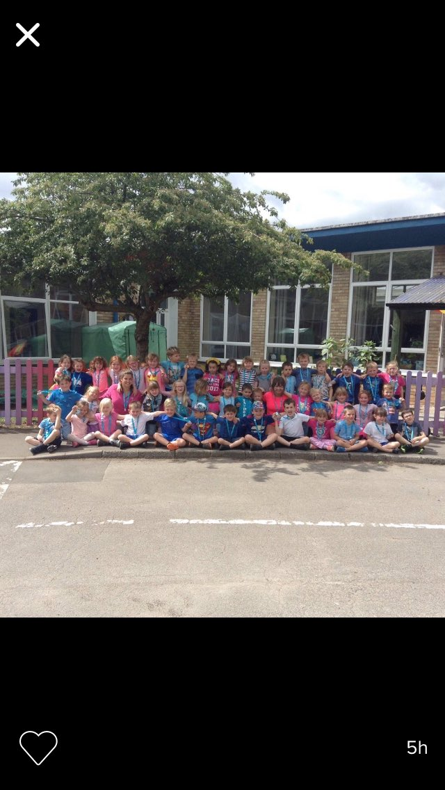Well done Year 1, you were fantastic and have helped make a difference. So proud of you all #proudteacher #raceforlife #standuptocancer