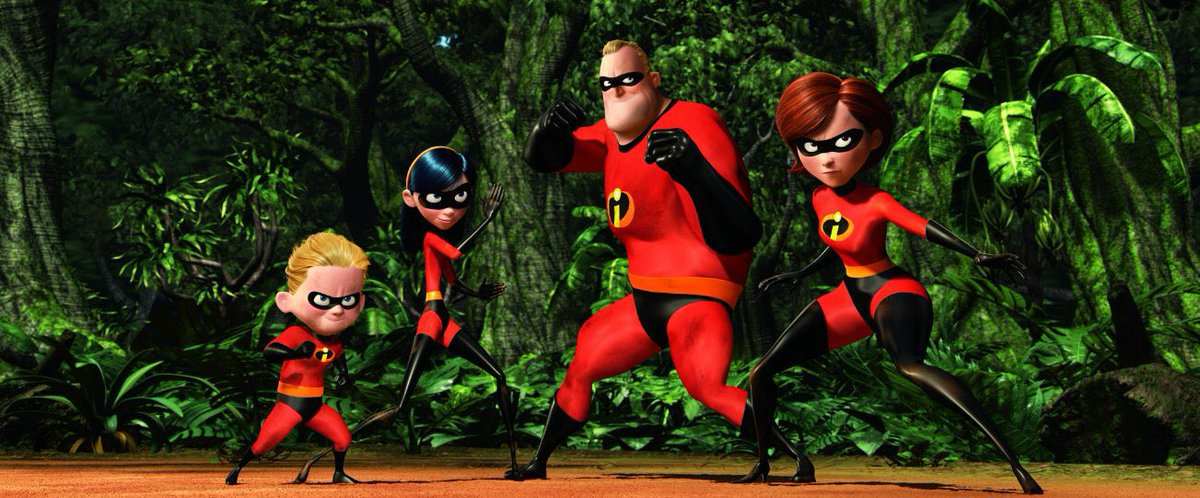 'INCREDIBLES 2' HAS A RELEASE DATE ➡️🚨➡️ June 15, 2018