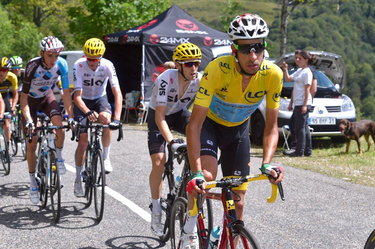 Capolavoro Fabio Aru al Tour de France che resta in Maglia Gialla dopo Tappa 13