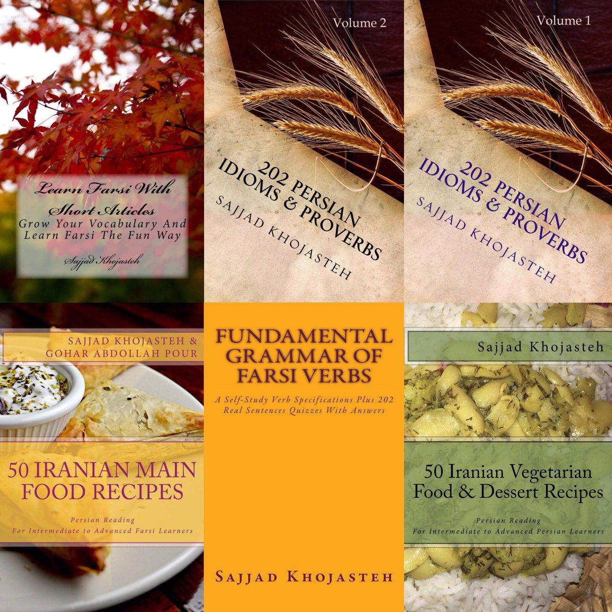 Our Farsi Books #Persian #Idioms #Proverbs #Iran #Short _Articles #Farsi #Grammar<br>http://pic.twitter.com/ihJ6Lpv19l