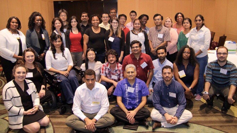 DiverseScholar & @UHouston #postdoc attendees @ 1st #DivSch17 #diversity conference. @SACNAS #LPSLI goal achieved! https://t.co/UObAWTTp30