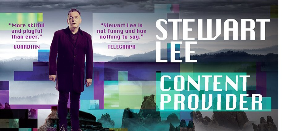 Image result for stewart lee tour poster