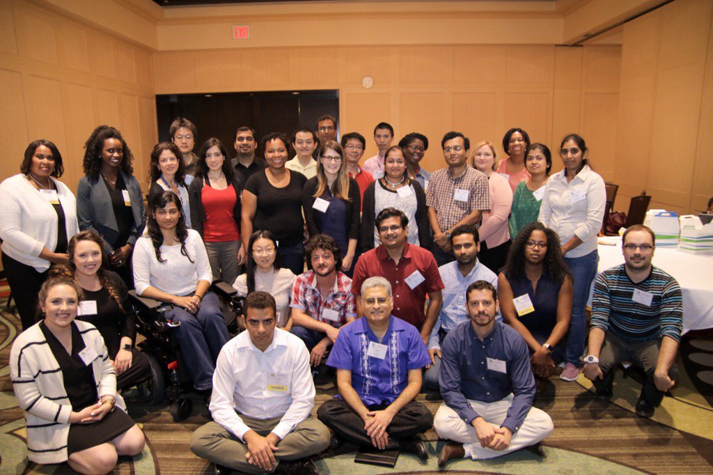 Great to see all the DiverseScholar,  @UHouston post docs attending 2-day #DivSch17 conference in Houston. https://t.co/Ohiiyg9qUH