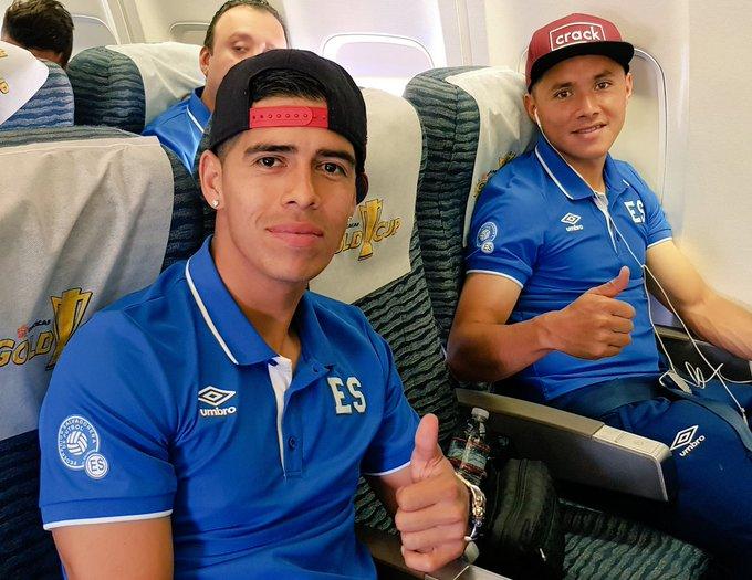 Copa Oro 2017: El Salvador vs Jamaica. Preparacion del juego. DEuPVOQXsAIY2-p