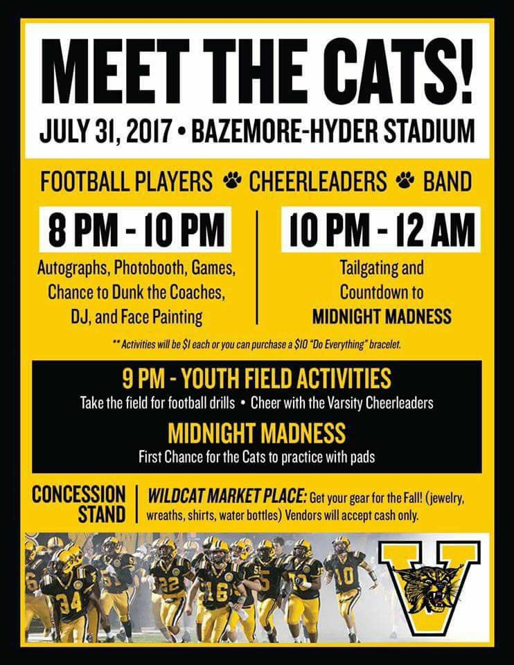 valdosta football on twitter bring the kids out and have a great