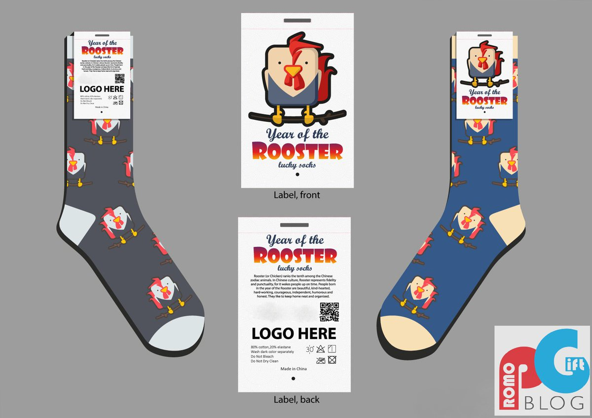 Chinese New Year Promotional Rooster Socks #lapelpins  http://www. promogiftblog.com/2016/11/chines e-new-year-promotional-rooster.html &nbsp; … <br>http://pic.twitter.com/YBnx2mU2Wn