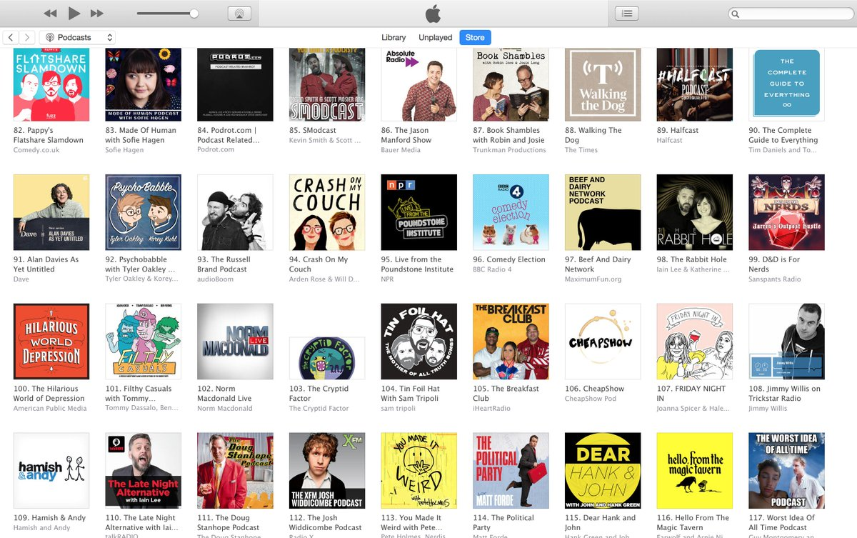 Just Looking At The Itunes Podcast Charts I M Behind Rus Brand Jason Manford Alan Davies
