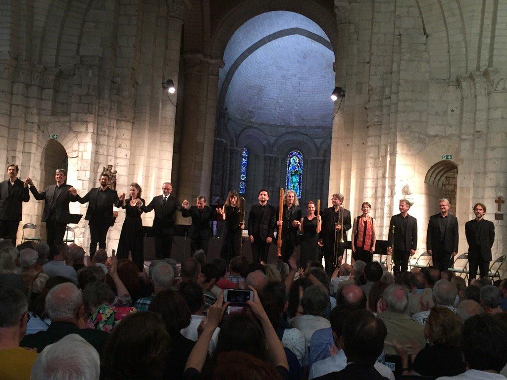 Doulce Mémoire ce soir à Saintes - Abbaye aux Dames. https://t.co/sIu7fk9crH