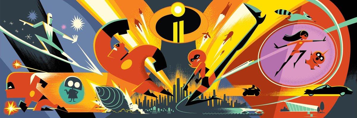 Disney/Pixar's #Incredibles2 opens in theatres in 3D June 15, 2018. #D23expo