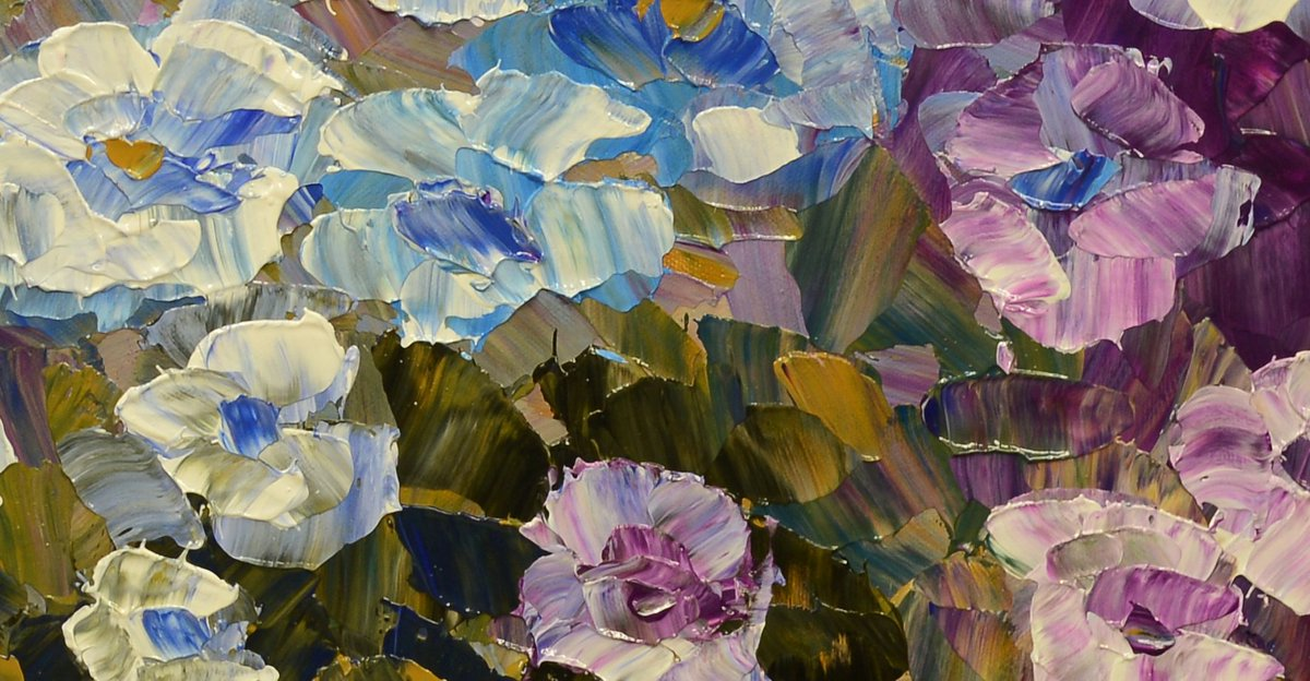 &#39;...the dust of the sunshine...   Steeped in flower...&quot;  http:// bit.ly/2v1wOh1  &nbsp;   #largepainting #Montreal (detail) <br>http://pic.twitter.com/0Qh2CI20sX
