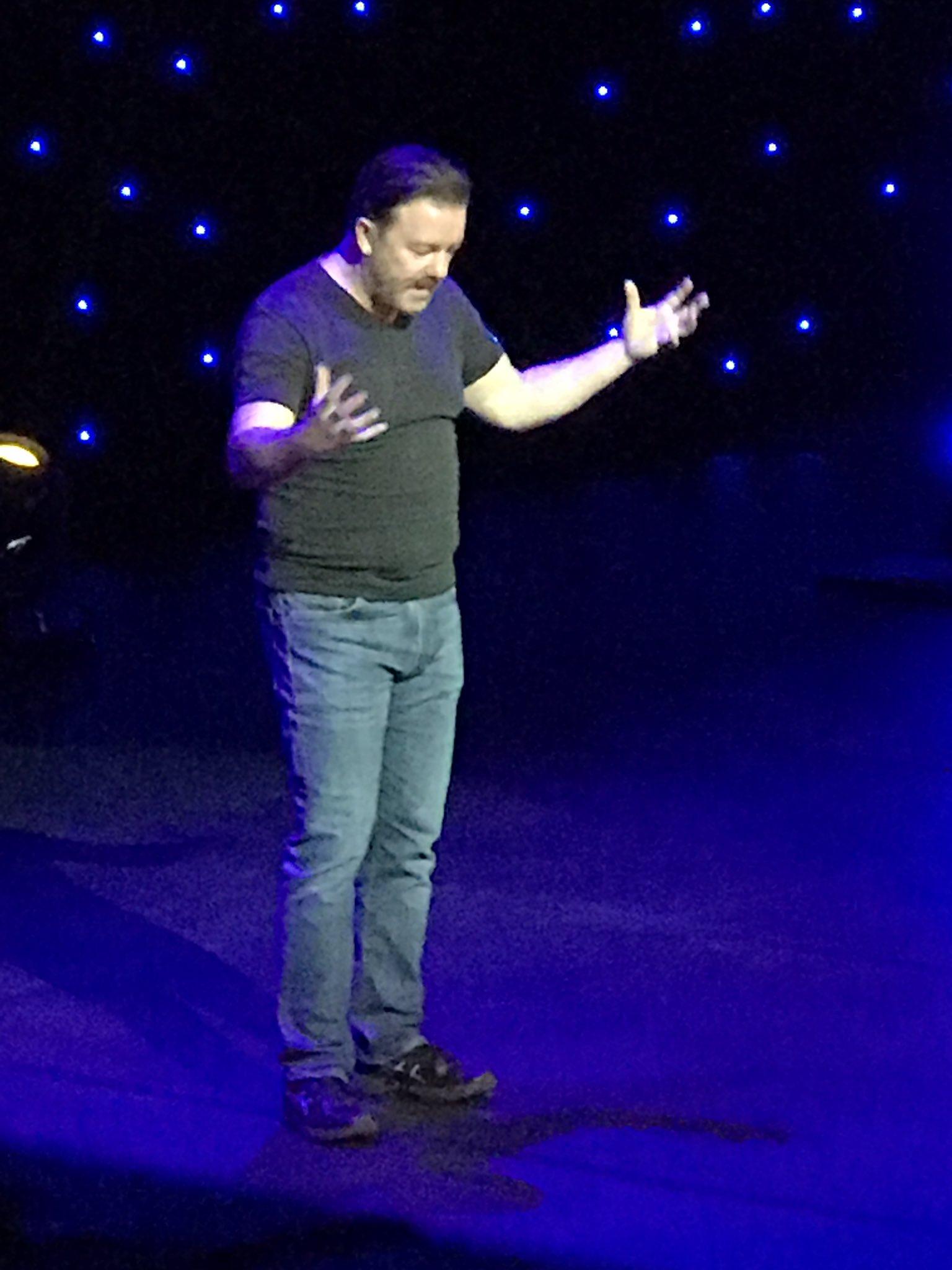 RT @preetbanerjee: 10/10 on @rickygervais' new standup show Humanity! https://t.co/Z58gB0nRFV