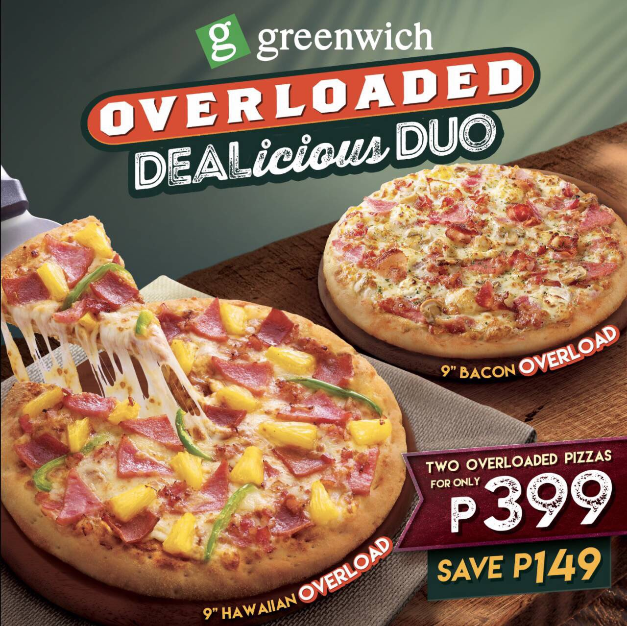 the vision of greenwich pizza Jollibee - one of the largest filipino-owned fastfood chain in the world.