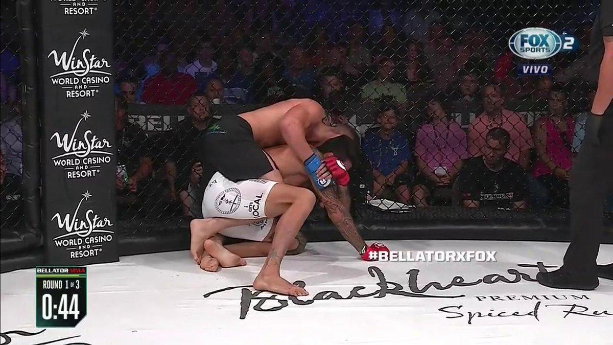 LO MANDÓ A DORMIR  #BellatorxFOX   @JCSalter_MMA logró un gran