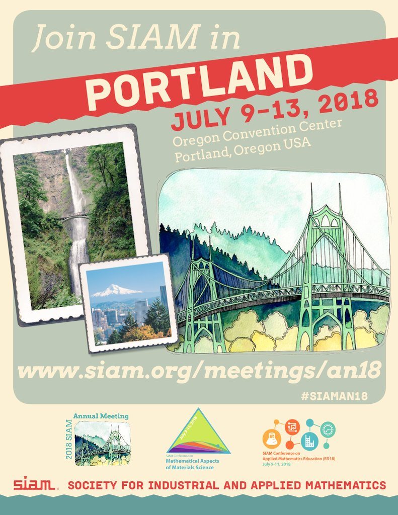 All done at #SIAMAN17 - time to start thinking about #SIAMAN18 in Portland Oregon! https://t.co/eQ7NvsItXb