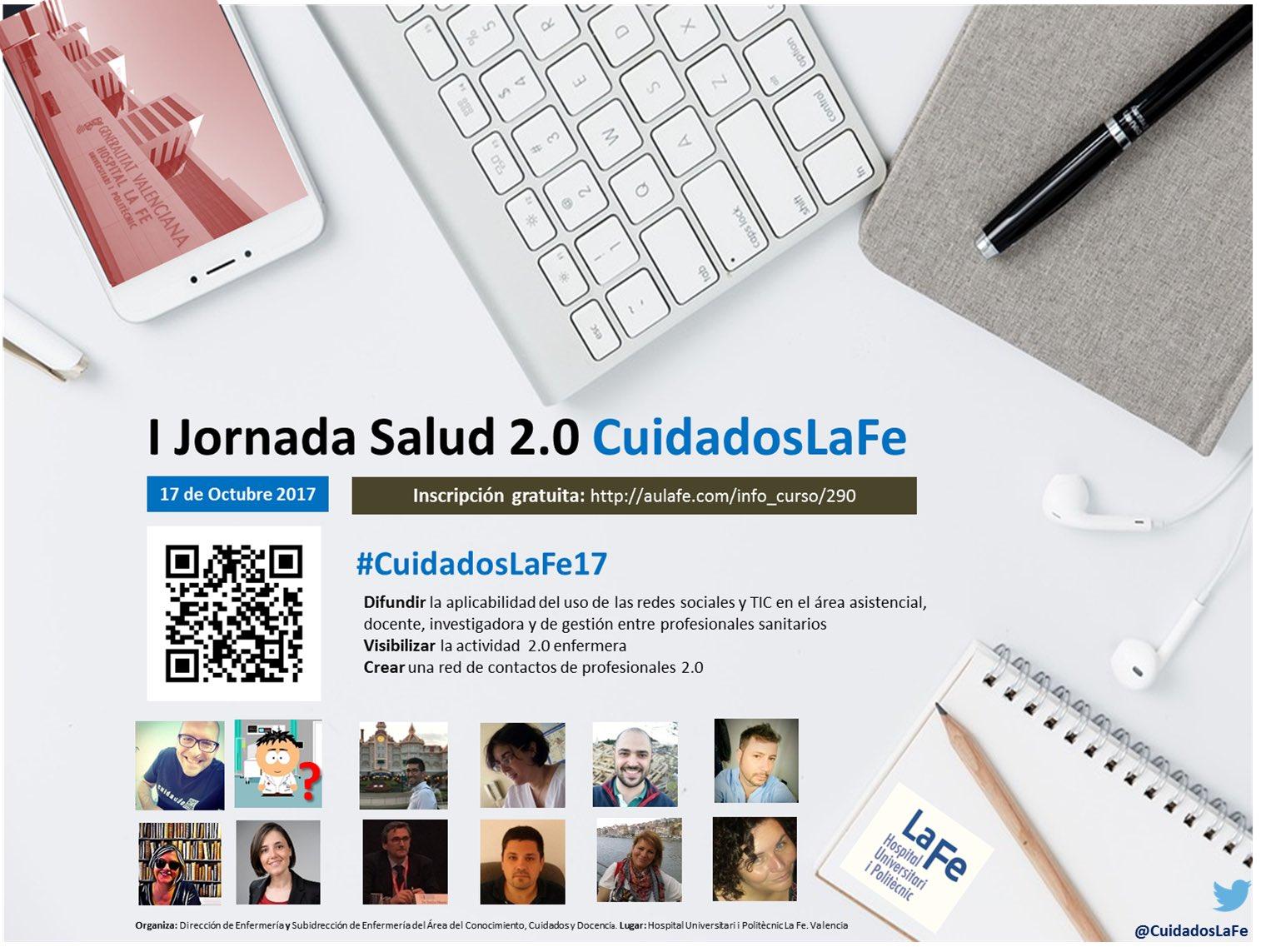 Seguimos con fuerza tras #InnobarSalud y os invitamos IJornada Salud 2.0 #CuidadosLaFe17  17 oct. Inscríbete gratis: https://t.co/XLfnMMHR0d https://t.co/aLKKsDc4pu