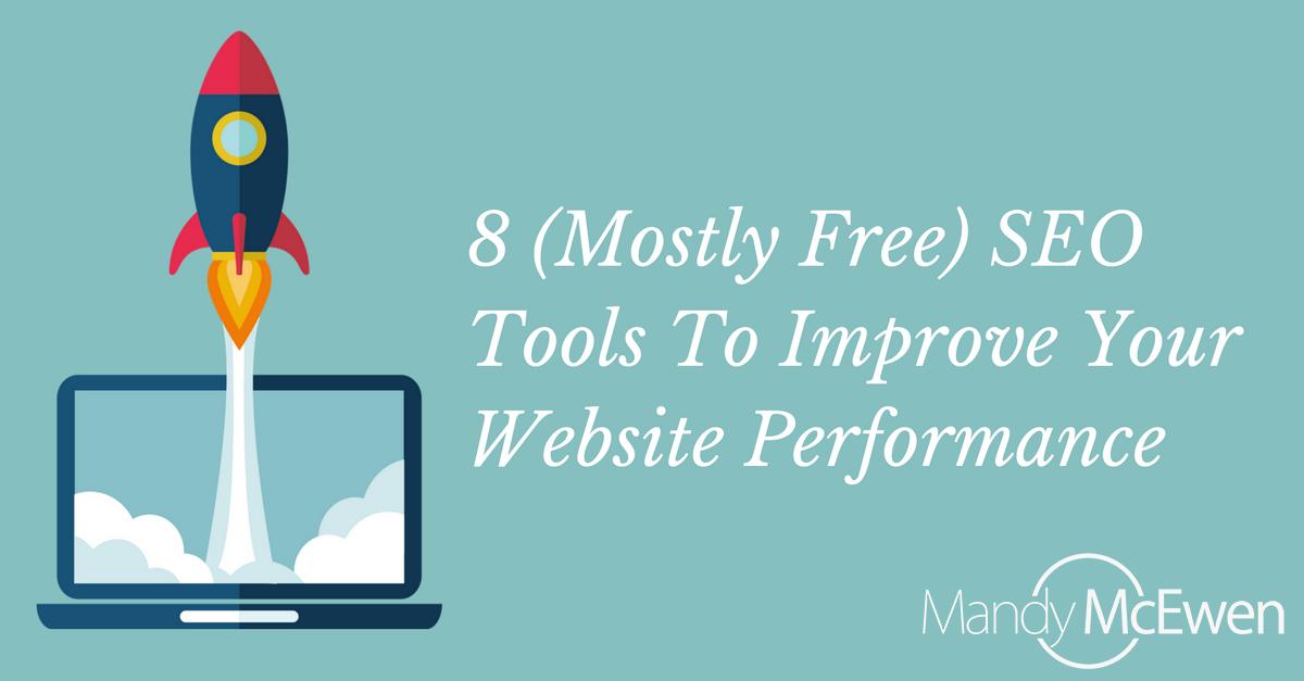 8 (Mostly Free) SEO Tools To Improve Your Website Performance https://t.co/vwSrOtkuRt via @ModGirlMktg @MandyModGirl