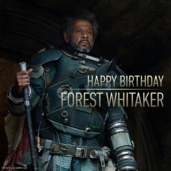 Happy 56th birthday Forest Whitaker