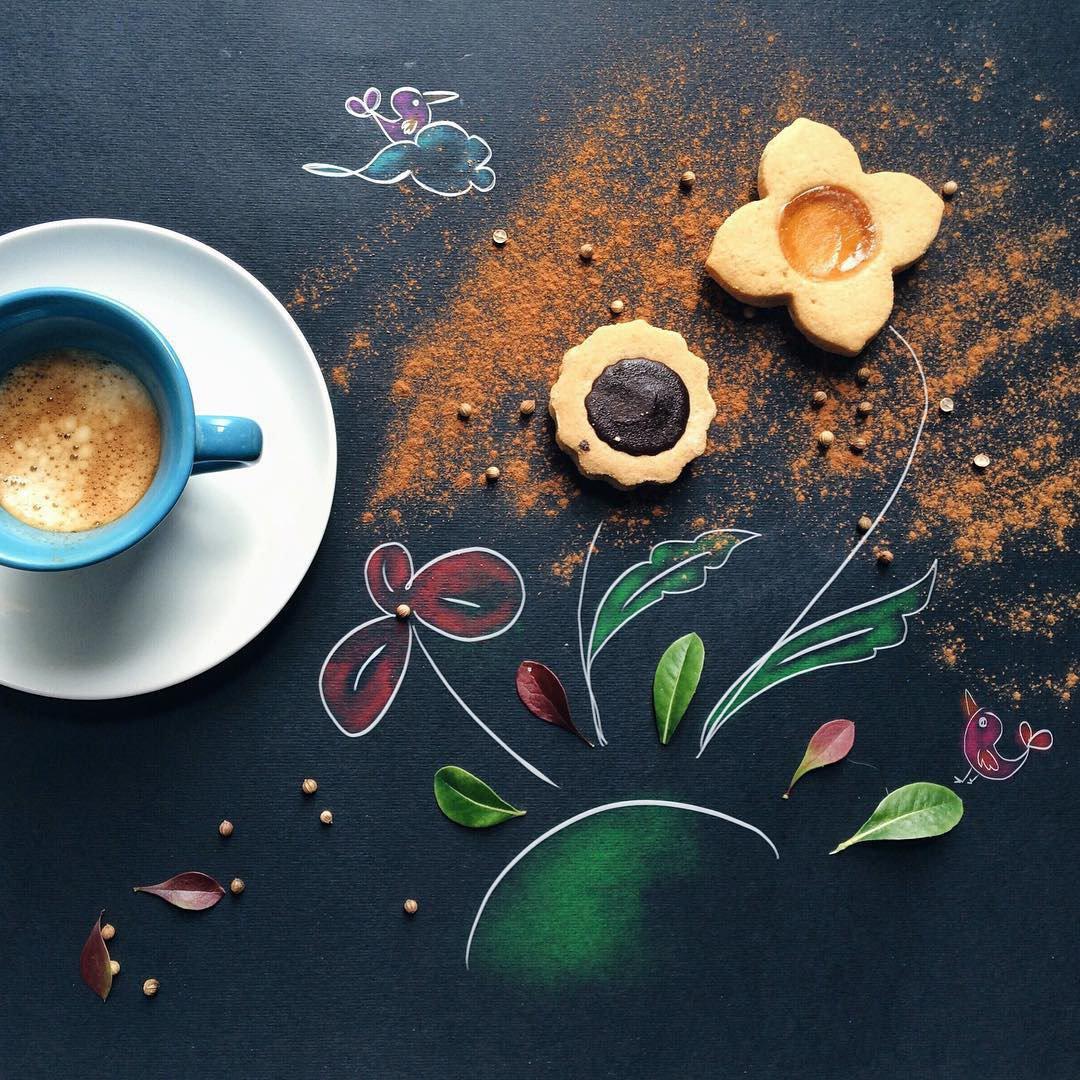 Открытка с добрым утром креативные, многослойная открытка