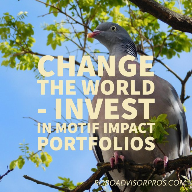Change the world while #investing - Motif Impact Investing Review - Robo #Investing With Heart  http:// shrs.it/209sm  &nbsp;   #millennials <br>http://pic.twitter.com/q4XE9ctKQL
