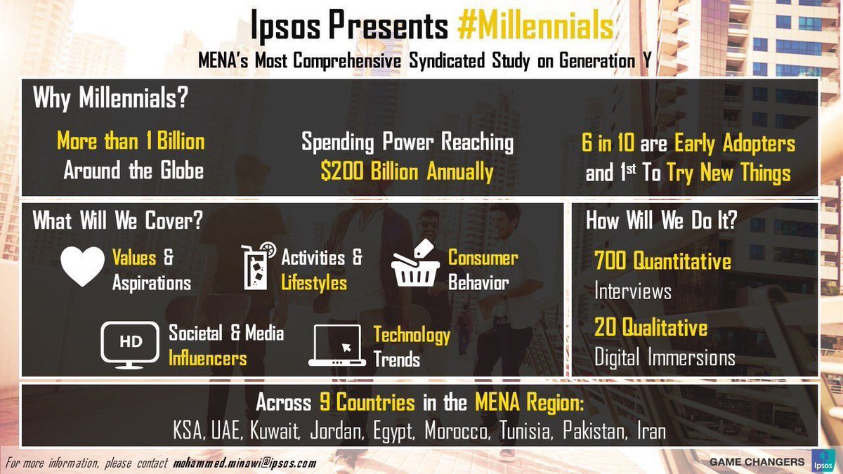 Learn all about #Millennials in #MENA! Contact us for details. #Ipsos #IpsosInsight #MrX<br>http://pic.twitter.com/TeMC3RCyr5